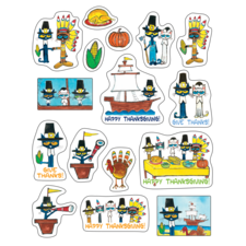 Pete the Cat Thanksgiving Stickers