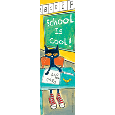 Pete the Cat School is Cool Bookmarks