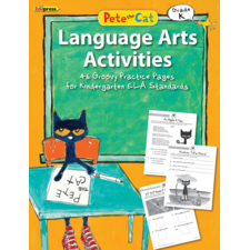 Pete the Cat Language Arts Activities Grade K