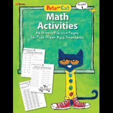 Pete the Cat Math Workbook Grade 1