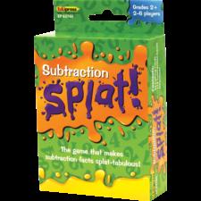 Math Splat Game: Subtraction
