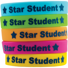 Star Student Wristbands