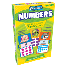 Numbers Slide & Learn Flash Cards