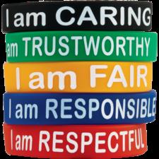 Character Traits Wristbands