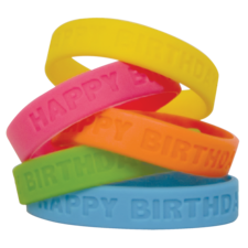 Happy Birthday 2 Wristbands