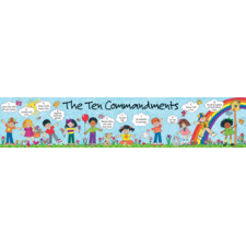 Children's Ten Commandments Banner
