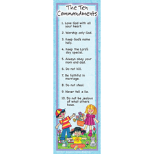 Ten Commandments Bookmarks