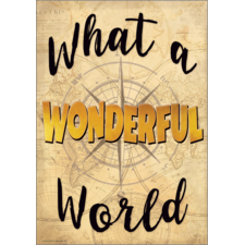 What a Wonderful World Positive Poster