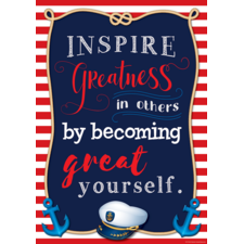 Inspire Greatness in Others Positive Poster