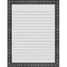 Chalkboard Brights Lined Chart