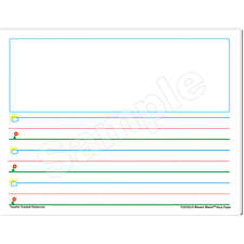 Smart Start K-1 Story Paper: 40 Sheet Tablet