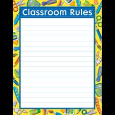 Tools for School Classroom Rules Chart