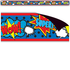Superhero Magnetic Borders