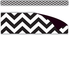 Black & White Chevron Magnetic Strips
