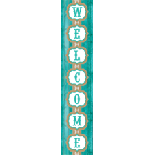 Shabby Chic Welcome Banner