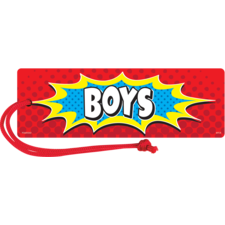 Superhero Magnetic Boys Pass
