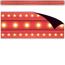 Red Marquee Magnetic Border