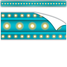 Clingy Thingies Light Blue Marquee Straight Borders