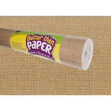 Burlap Better Than Paper Bulletin Board Roll
