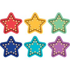 Spot On Marquee Stars Carpet Markers - 4""