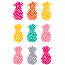 Tropical Punch Pineapples Magnetic Accents