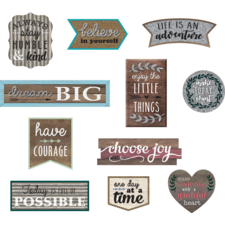 Clingy Thingies Home Sweet Classroom Positive Sayings Accents