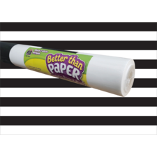 Black & White Stripes Better Than Paper Bulletin Board Roll