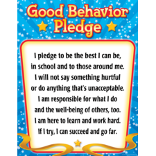 Good Behavior Pledge Chart
