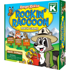 Ranger Rick Rockin' Raccoon Math Game Grade K
