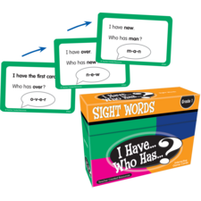 I Have, Who Has Sight Words Game Grade 1