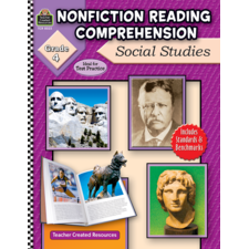 Nonfiction Reading Comprehension: Social Studies, Grade 4