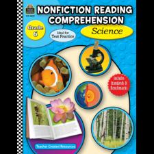 Nonfiction Reading Comprehension: Science, Grade 6