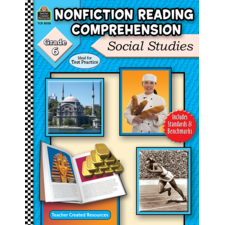 Nonfiction Reading Comprehension: Social Studies, Grade 6