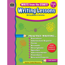 Write from the Start! Writing Lessons Grade 3
