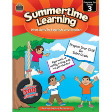 Summertime Learning Grade 3 - Spanish Directions