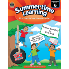Summertime Learning Grade 6 - Spanish Directions