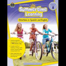 Summertime Learning Grade 8 - Spanish Directions