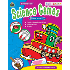 Full-Color Science Games, PreK-K
