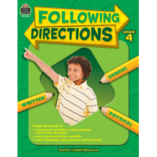 Following Directions Grade 4