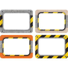Under Construction Name Tags/Labels - Multi-Pack