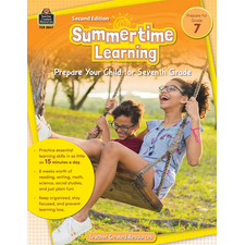 Summertime Learning Grade 7