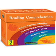 Fiction Reading Comprehension Cards Grade 2
