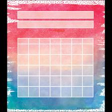 Watercolor Incentive Charts