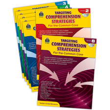Targeting Comprehension Strategies for the Common Core Set
