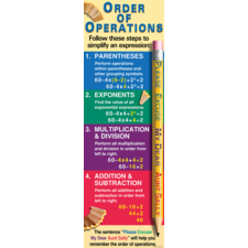 Order of Operations Colossal Poster