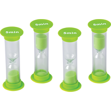 5 Minute Sand Timers - Mini