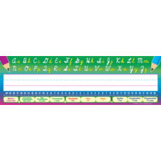 Cursive Writing Flat Name Plates