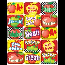 Apples Motivational Jumbo Stickers