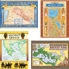Ancient Civilizations Bulletin Board Display Set