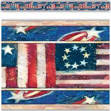 Patriotic Straight Border Trim from Susan Winget